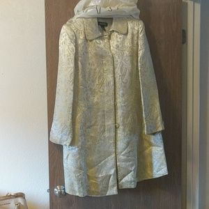 Gold Lane Bryant coat/jacket